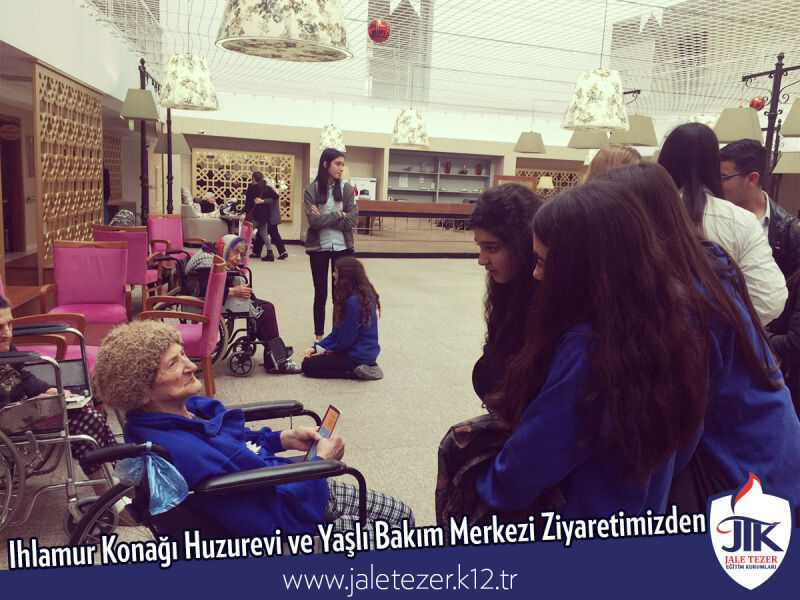 Our Visit To Ihlamur Konaği Nursery House and The Elderly Care Center 9