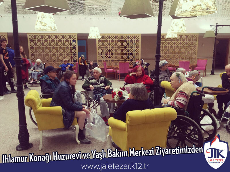 Our Visit To Ihlamur Konaği Nursery House and The Elderly Care Center 11