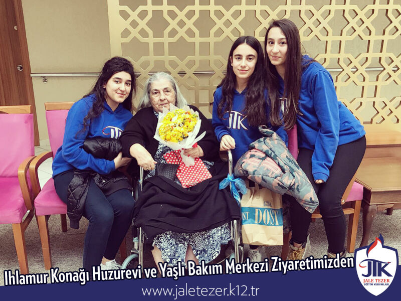 Our Visit To Ihlamur Konaği Nursery House and The Elderly Care Center 12