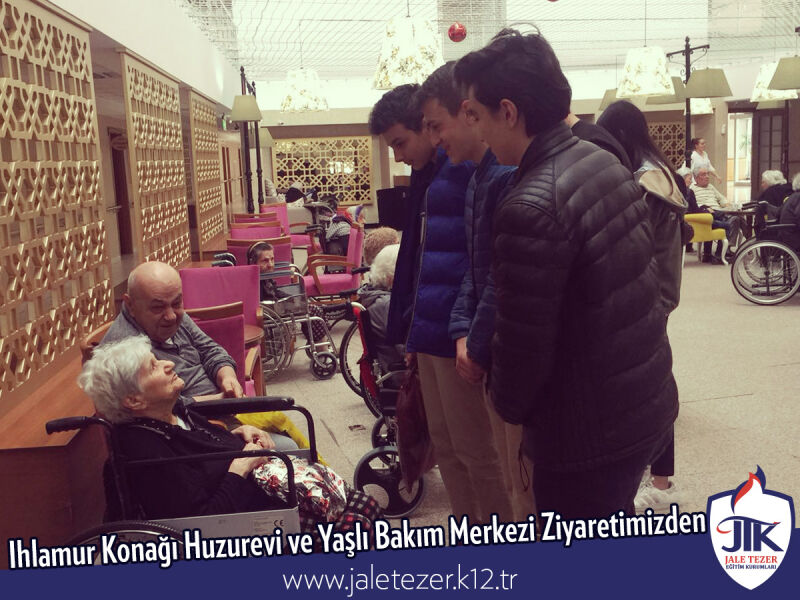 Our Visit To Ihlamur Konaği Nursery House and The Elderly Care Center 13