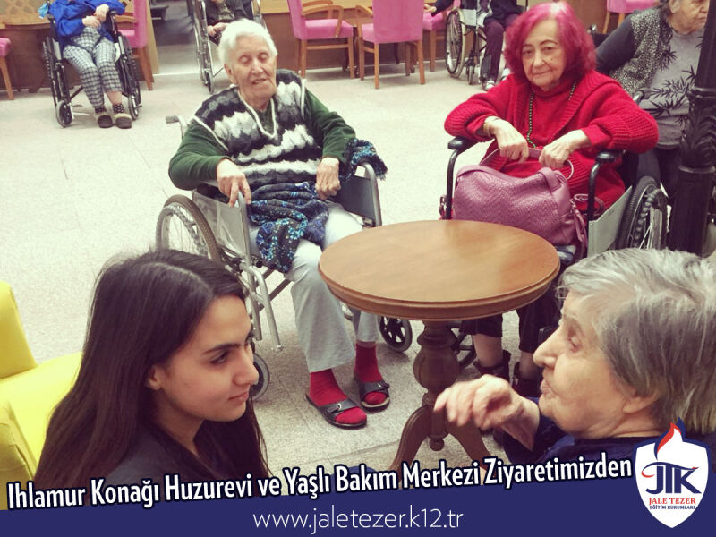 Our Visit To Ihlamur Konaği Nursery House and The Elderly Care Center 14