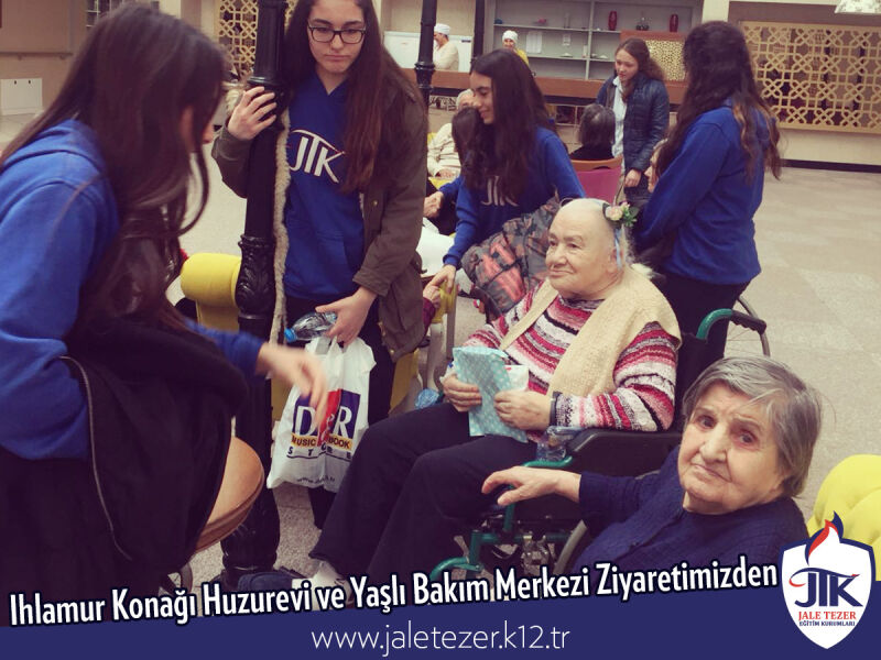 Our Visit To Ihlamur Konaği Nursery House and The Elderly Care Center 15