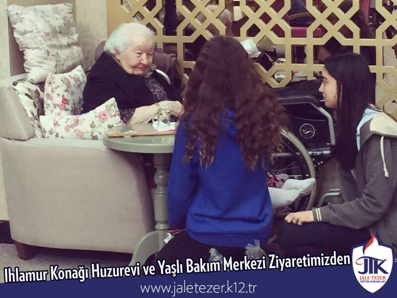 Our Visit To Ihlamur Konaği Nursery House and The Elderly Care Center 16