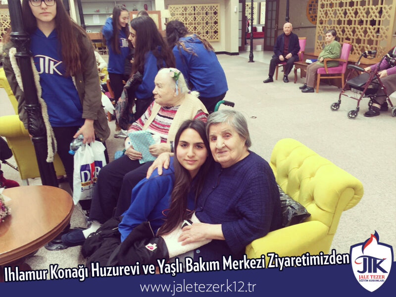 Our Visit To Ihlamur Konaği Nursery House and The Elderly Care Center 17