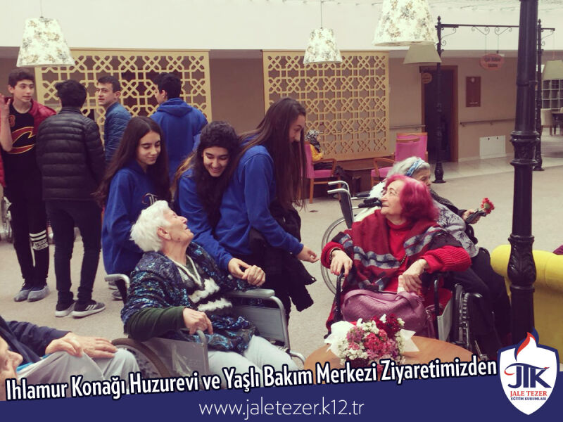 Our Visit To Ihlamur Konaği Nursery House and The Elderly Care Center 18