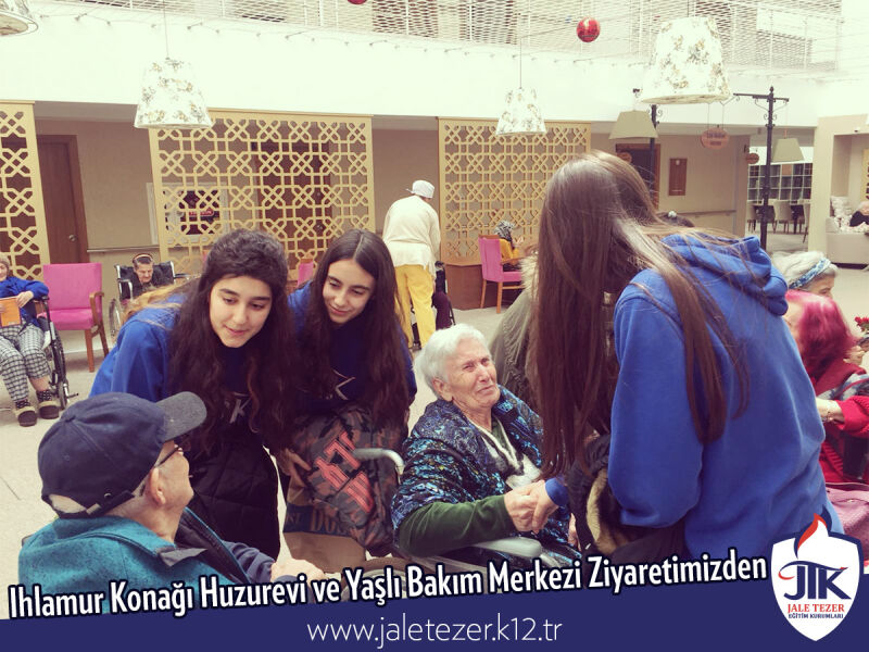 Our Visit To Ihlamur Konaği Nursery House and The Elderly Care Center 1