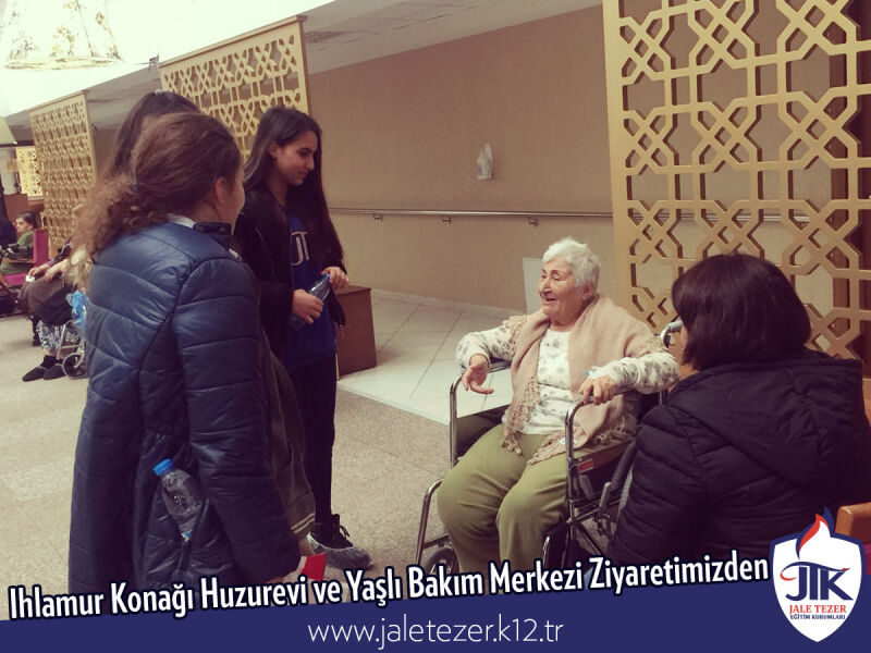 Our Visit To Ihlamur Konaği Nursery House and The Elderly Care Center 19