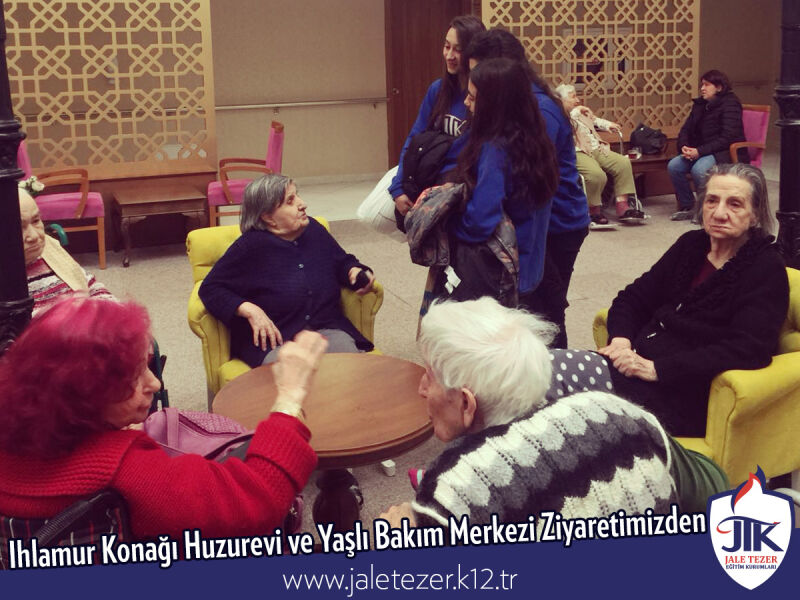 Our Visit To Ihlamur Konaği Nursery House and The Elderly Care Center 20