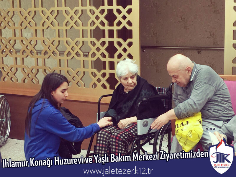 Our Visit To Ihlamur Konaği Nursery House and The Elderly Care Center 5