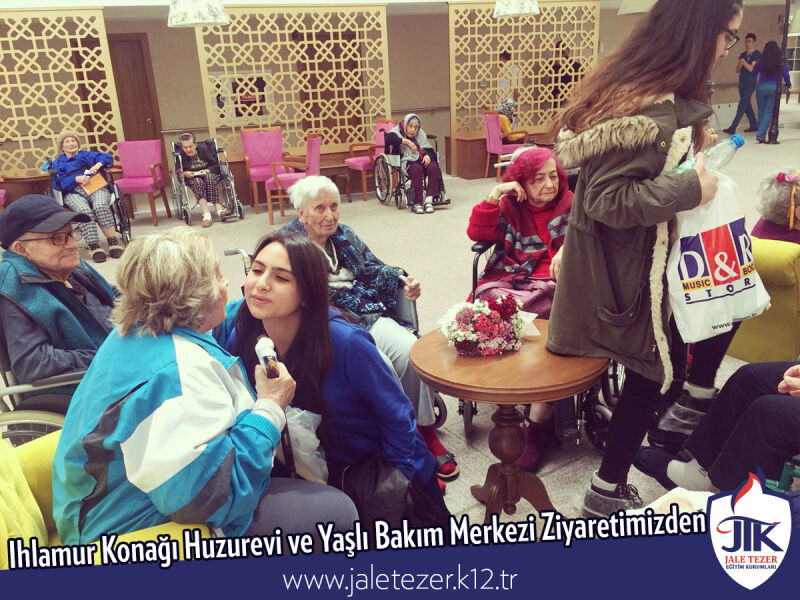 Our Visit To Ihlamur Konaği Nursery House and The Elderly Care Center 6