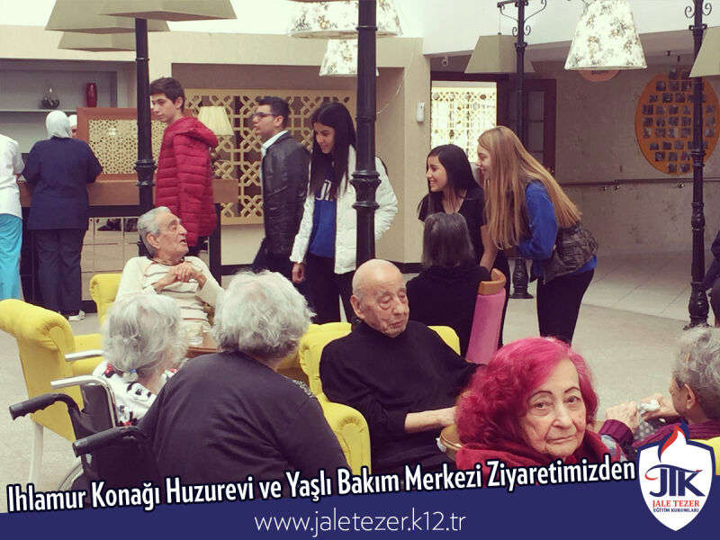 Our Visit To Ihlamur Konaği Nursery House and The Elderly Care Center 7