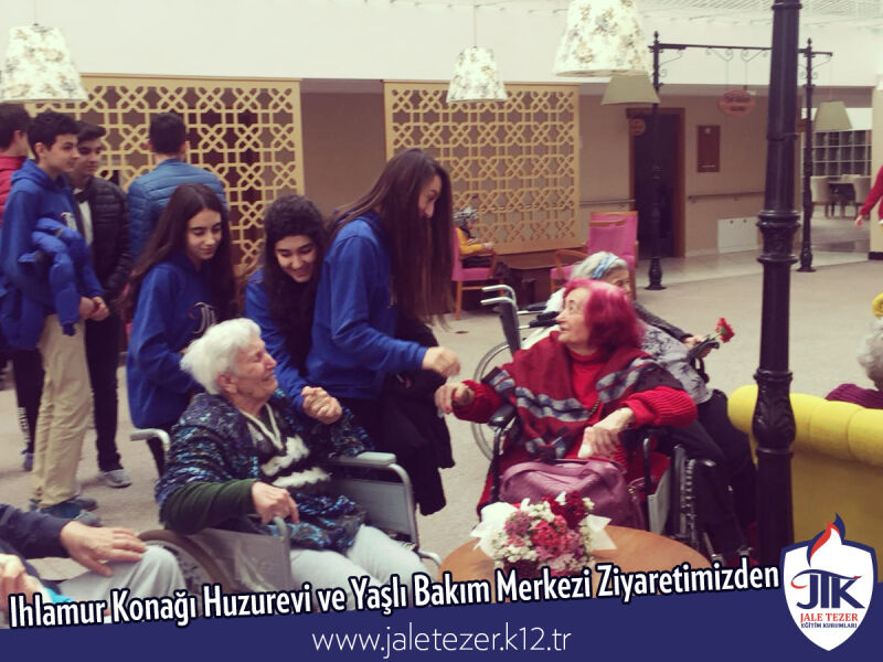 Our Visit To Ihlamur Konaği Nursery House and The Elderly Care Center 8