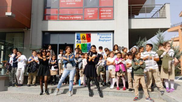 Dunya Kulturleri Fransiz Kultur Merkezi Gezisi Jale Tezer