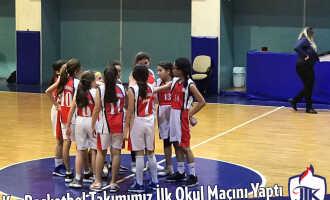 Kız Basketbol Takımımız İlk Okul Maçını Yaptı
