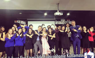 Francophonie Celebration In Jale Tezer Anatolian and Science High School