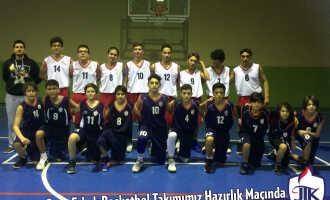 Yıldız ve Genç Erkek Basketbol Takımımız Hazırlık Maçında
